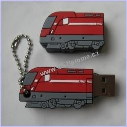 Reklamní USB flash disky na míru - v libovolném tvaru, 2D i 3D