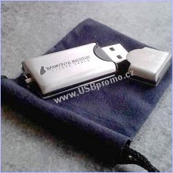 Kovová USB fleška pro reklamní gravírování